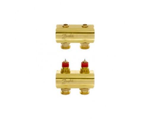 Коллектор распределительный FHF-2 конфигурация 2+2, Dafnoss 088U0502