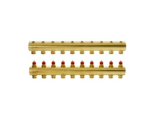 Коллектор распределительный FHF-10 конфигурация 10+10, Dafnoss 088U0550