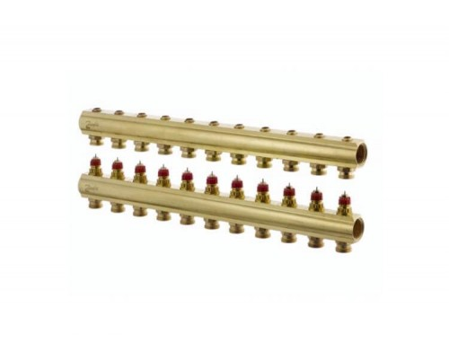 Коллектор распределительный FHF-11 конфигурация 11+11, Danfoss 088U0551