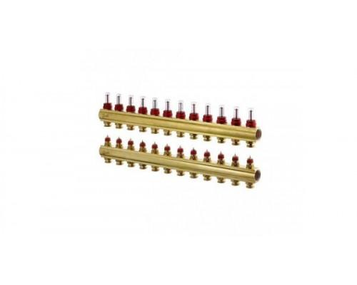 Коллектор распределительный FHF-12 конфигурация 12+12, Dafnoss 088U0552