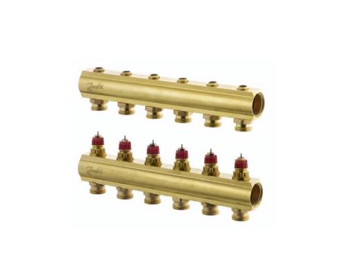 Коллектор распределительный FHF-6 конфигурация 6+6, Dafnoss 088U0506