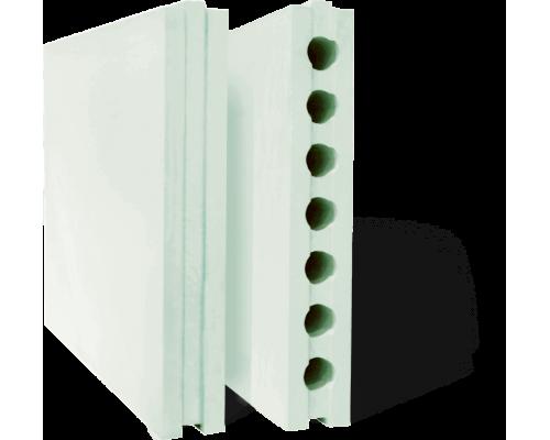 Плиты гипсовые 80х500х667 для перегородок полнотелые гидрофобизированные
