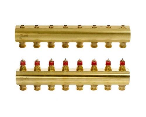 Коллектор распределительный FHF-8 конфигурация 8+8, Dafnoss 088U0508