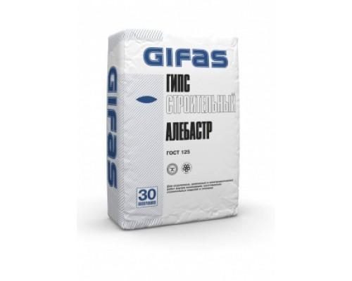 Гипс строительный Г-4 Гифас (Gifas) (алебастр), 30кг