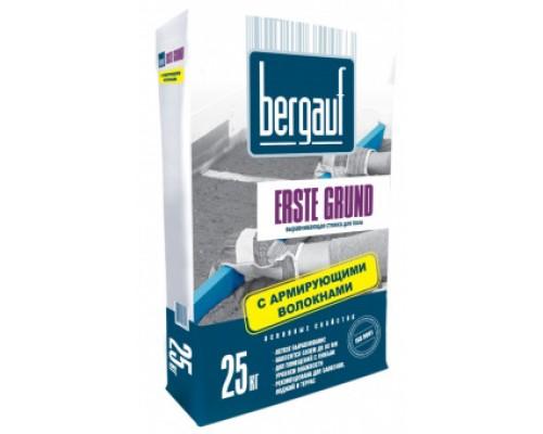Усиленная стяжка с армирующими волокнами Бергауф Эрсте Грунд (Bergauf Erste Grund) М-200, 25кг