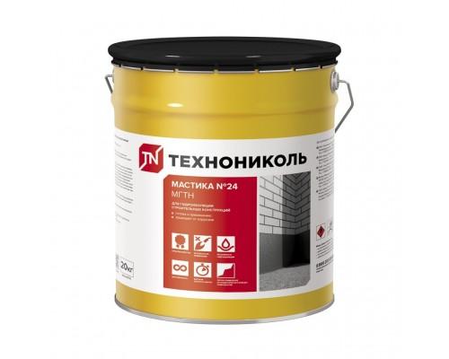 Мастика гидроизоляционная МГТН, ТЕХНОНИКОЛЬ № 24 (ведро 20 кг.)