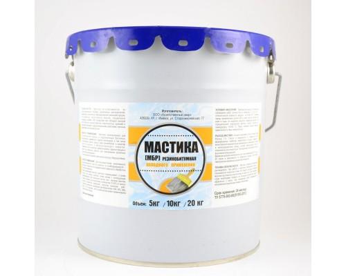 Мастика резино-битумная МБР, ХозДвор, (1 шт.=20 кг.)