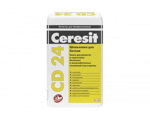 Шпаклевка для бетона Церезит (Ceresit) CD24, 25кг