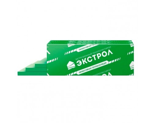 Экструдированный пенополистирол Экстрол 30 Г4 (1180х580х100/4; 0,274м3/уп.)