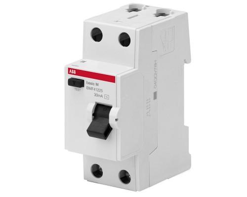 Выключатель автоматический дифференциального тока 1P+N 25А C 4.5kA 30мA AC BMR415C25 (2CSR645041R1254)