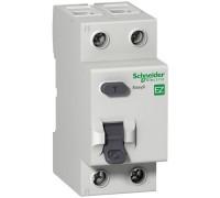 Выключатель автоматический дифференциальный АВДТ 1п+N 10А 30мА C AC EASY 9