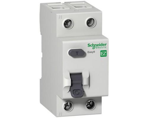 Выключатель автоматический дифференциальный (АВДТ) 1п+N 32А 30мА C AC EASY 9