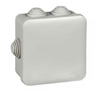 Коробка распределительная 85х85х40мм IP55 серая (IMT35092)