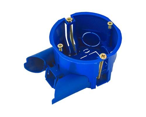 Коробка установочная ГИПРОК 60мм с соединителем (С3Е3КК)