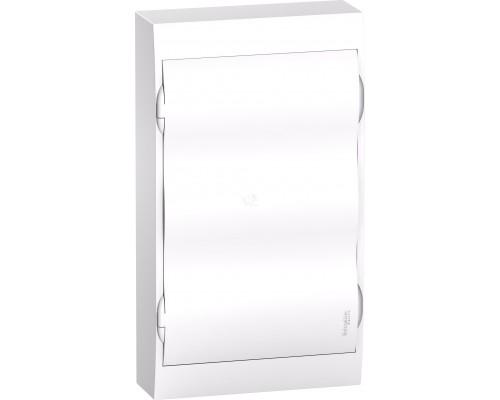 Щит распределительный навесной белый дверь белая на 36 модулей IP40 Easy9