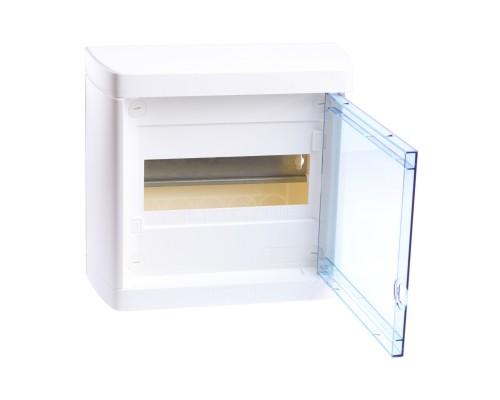 Nedbox Щит распределительный навесной ЩРН-п-8 пластиковый прозрачная дверь