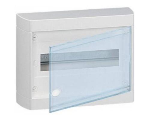 Щит распределительный навесной ЩРн-П-12 пластиковый прозрачная дверь Nedbox