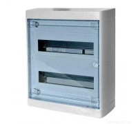 Щит распределительный навесной ЩРн-П-24 пластиковый прозрачная дверь Nedbox