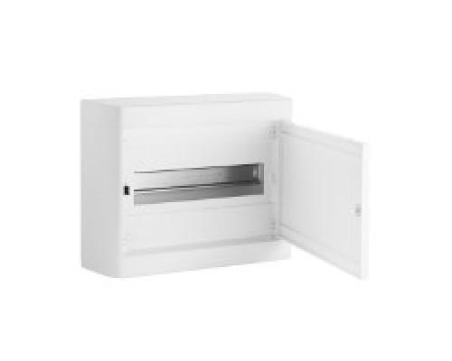 Щит распределительный навесной ЩРн-П-12 пластиковый белая дверь Nedbox