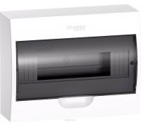 Щит распределительный навесной белый дверь прозрачная на 12 модулей IP40 Easy9