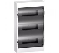 Щит распределительный навесной белый дверь прозрачная на 36 модулей IP40 Easy9