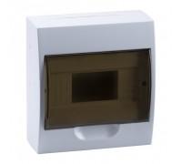Щит распределительный навесной ЩРн-П-8 IP41 пластиковый белый прозрачная дверь (MKP12-N-08-40-20)