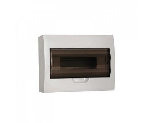Щит распределительный навесной ЩРн-П-12 IP41 пластиковый белый прозрачная дверь (MKP12-N-12-40-10)