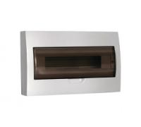 ЩРн-П-18 IP41 пластиковый белый прозрачная дверь (MKP12-N-18-40-10)