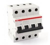 Выключатель автоматический четырехполюсный 10А С SH204L 4.5кА (SH204L C10)