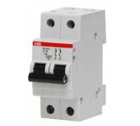 Выключатель автоматический двухполюсный 10А С SH202L 4.5кА (SH202L C10)