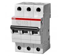 Выключатель автоматический трехполюсный 10А С SH203L 4.5кА (SH203L C10)