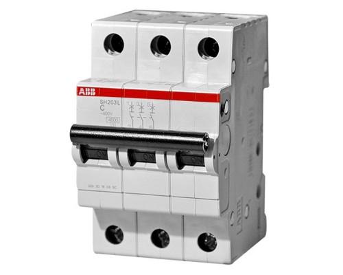 Выключатель автоматический трехполюсный 6А С SH203L 4.5кА (SH203L C6)