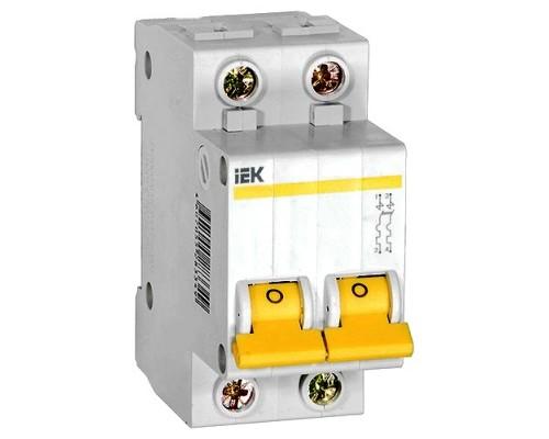Выключатель автоматический двухполюсный 16А С ВА47-29 4.5кА (MVA20-2-016-C)