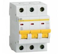 Выключатель автоматический трехполюсный 40А C ВА47-29 4.5кА