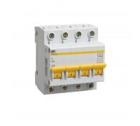 Выключатель автоматический четырехполюсный 16А С ВА47-29 4.5кА (MVA20-4-016-C)