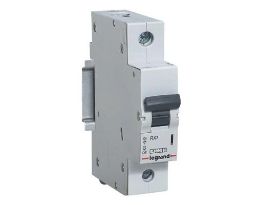 Выключатель автоматический однополюсный RX3 4,5 кА C 63 А