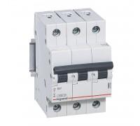 Выключатель автоматический трехполюсный RX3 4,5 кА C 6 А
