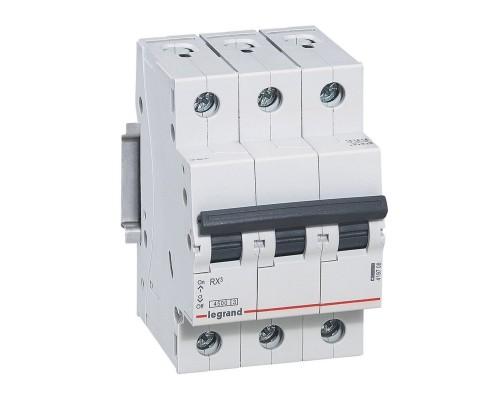 Выключатель автоматический трехполюсный RX3 4,5 кА C 20 А