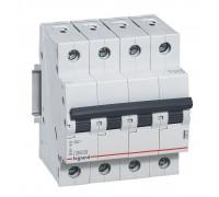 Выключатель автоматический четырехполюсный RX3 4,5 кА C 6 А