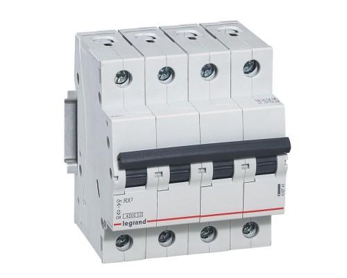 Выключатель автоматический четырехполюсный RX3 4,5 кА C 25 А