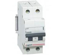 Выключатель автоматический двухполюсный RX3 4,5 кА C 6 А