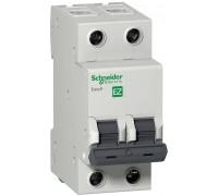 Выключатель автоматический двухполюсный 6A C 4.5кА Easy9 (EZ9F34206 )