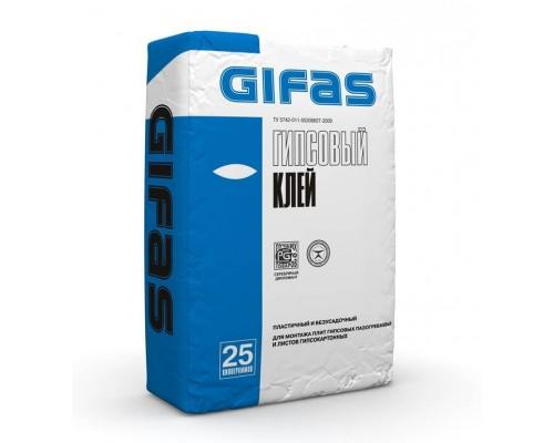 Клей гипсовый Гифас (Gifas), 25кг