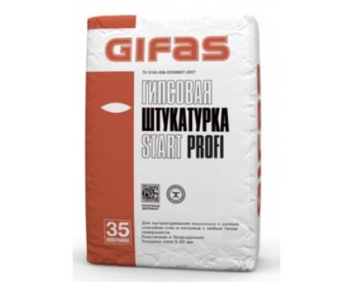 Штукатурка гипсовая Гифас Старт Профи (Gifas Start Profi), 35кг