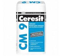 Клей для плитки Церезит СМ9 (Ceresit CM9) для внутренних работ, 25кг