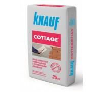 Штукатурка цементная универсальная Кнауф Коттеджная (Knauf Cottage), 25кг