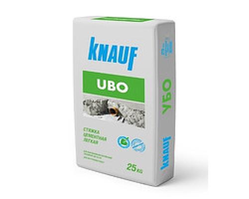Стяжка для пола цементная легкая Кнауф УБО (Knauf Ubo), толщ.3-300мм, 25кг