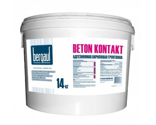Грунтовка акриловая адгезионная Beton Kontakt, 14 кг.