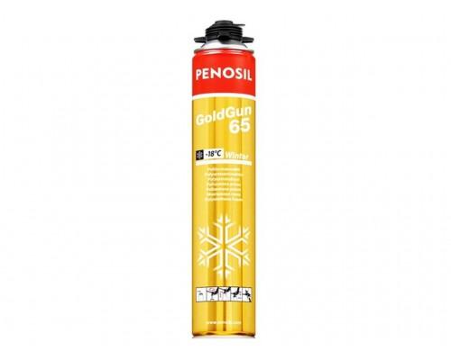 Пена монтажная Penosil Gold Gun 65 зимняя, 875 мл.