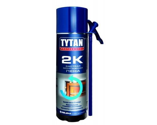 Пена монтажная бытовая Tytan Professional 2K двухкомпонентная, 400 мл.